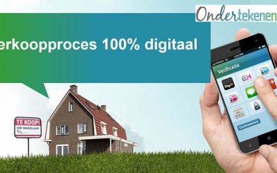 Een 100% digitaal verkoopproces