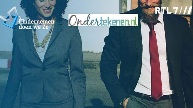 Ondertekenen.nl op RTL7 bij Ondernemen doen we zo!