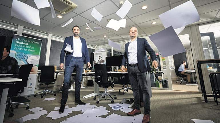 Een mooi artikel over Ondertekenen.nl in het FD