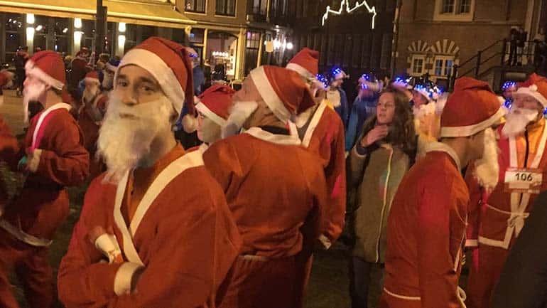 Santa run Haarlem 2016