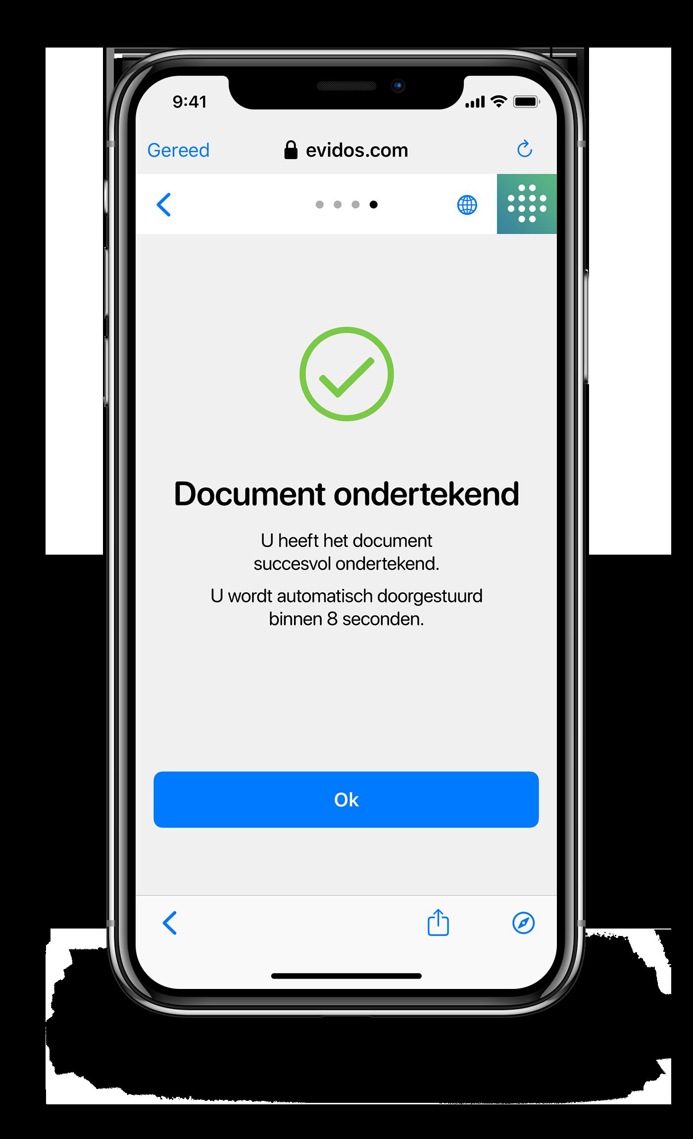 Ondertekenen - NL - stap 4